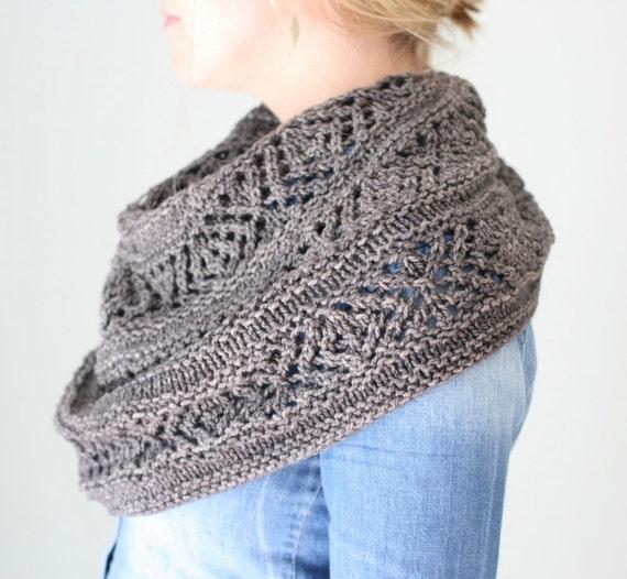 Pashmina Cowl Knitting Pattern : Adama Cowl PDF KNITTING PATTERN