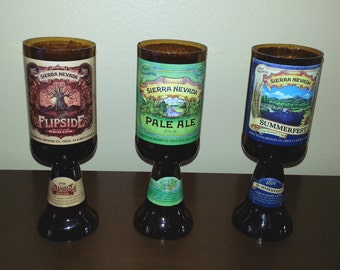Beer Candles Sierra Nevada Handmade Gift select beer bottle & Scent with Pedestal