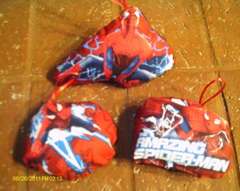 The Amazing Spider-Man Pillow Ornaments - Set of 3