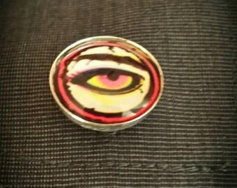 Retro eye cufflinks