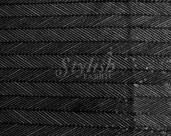 Black Arrowhead Sequins Fabric - 1 Yard Style 2826