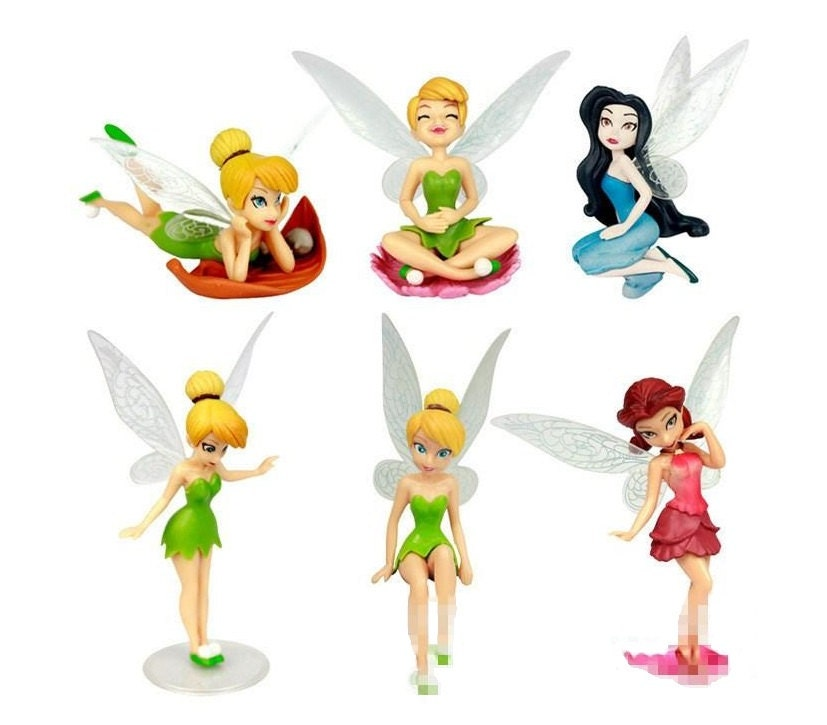 Tinkerbell Fairy Cake Toppers