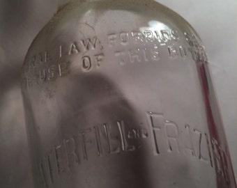 Waterfill Frazier bottle