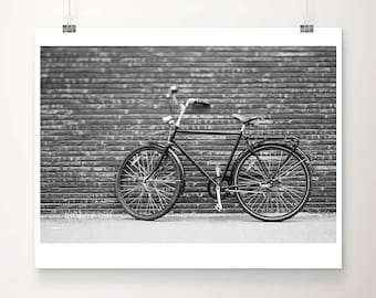 bicycle photograph black and white photography copenhagen photograph bicycle print bike photograph travel photography