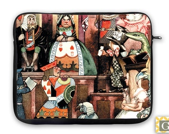 Alice The Trial  iPad Case, Laptop Bag, Laptop Sleeve, Laptop Case, iPad Sleeve, MacBook Case, Tablet Case - Alice in Wonderland
