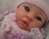 Adorable Reborn  Baby Girl (Krista By Cradle kit) So Cute.