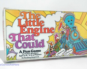 The Little Engine That Could Board Game from Parker Brothers 1977 COMPLETE (read description)