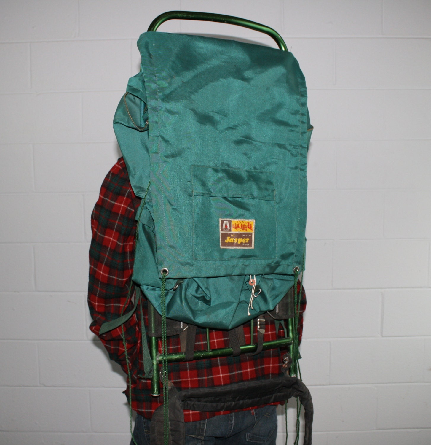 Vintage Backpack Camping Gear Academy by FionasHardGoods ...