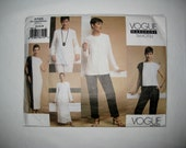 Vogue 2725 Sewing Pattern Suit Jacket Pants Pullover Dress Top Wrap Skirt Loose Fit Tamotsu Wardrobe Size 12 14 16 UNCUT