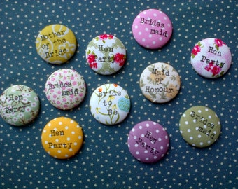 Handmade Hen Party Badges!