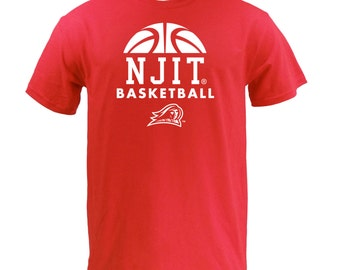 NJIT BBall Hype Tee - Red