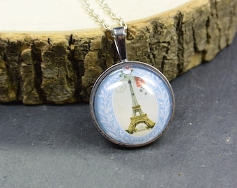 Necklace Paris Eiffel Tower