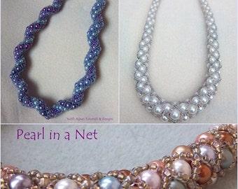 TUTORIAL BUNDLE - Graduated & Swirl Pearl in a net