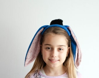 Eeyore Ears Headband, Donkey Ears