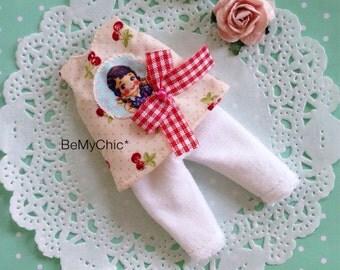SALE* Lati Yellow Pukifee Cloth Dress Cute Cherry Vintage Girl