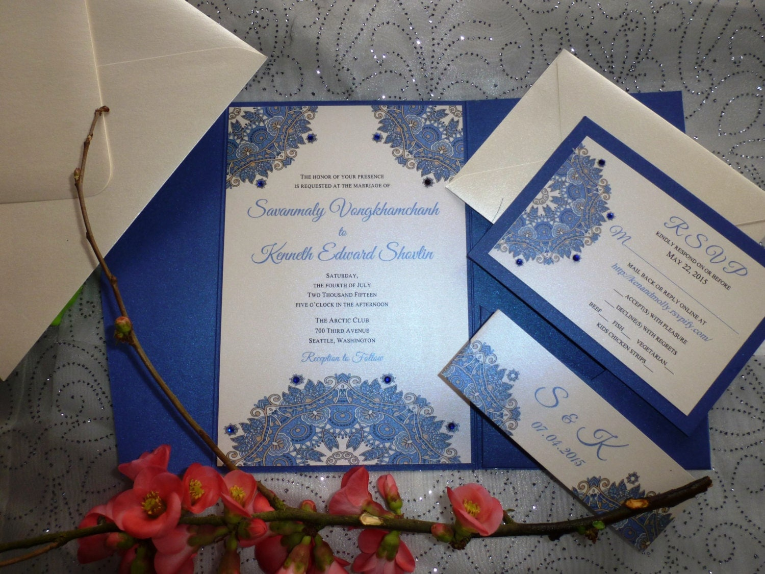 Royal Blue Quinceanera Invitations All The Best Invitation In 2018