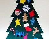 Large Children's Felt Christmas Tree with Storage Bag