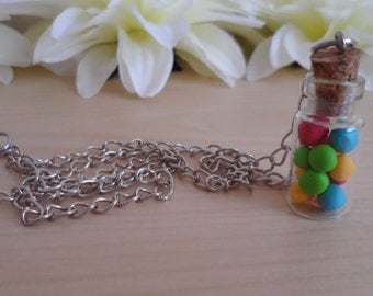 GumBalls - Small Bottle Necklace
