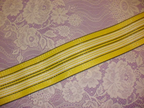 Vintage lawn chair webbing 6 yards for by mrsmurphysmercantile for Lawn chair webbing