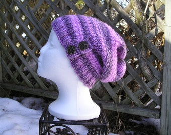 Pink Slouch Hat