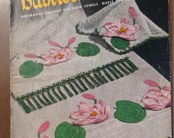 JP Coats CLarks Bathroom Beauties Book No. 265