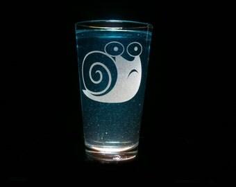 Snails Cutie Mark - Pint Glass