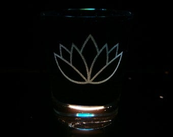 Aloe/Lotus Cutie Mark  - shot glass