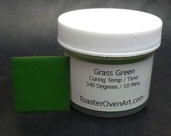 Grass Green Powder Paint