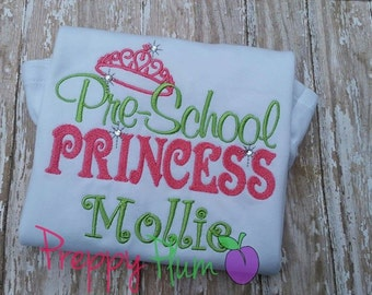 Preschool Princess Shirt