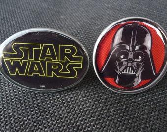 Choose - STAR WARS Character KNOB - Logo or Darth Vadar - Cabinet Drawer Pull - Boys Room knobs Decor