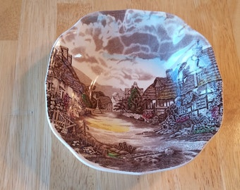 On Sale Johnson Brothers Olde English Countryside Salad/Soup Bowl Replacement Dish Hand Engraved