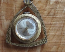 Lucerne Swiss HEAVEN AND HELL  pendant watch Art Deco