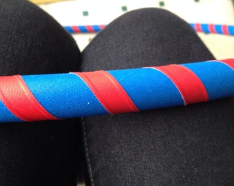 Blue, Red Grip Taped Kids Hula Hoop