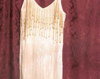 VCW-003 Vintage 1930's Flapper Dress