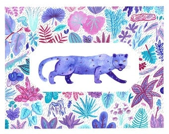 Jungle Jaguar Print - SALE!