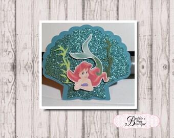 Little Mermaid Invitation, Little Mermaid Birthday, Arial Invitation, Little Mermaid Birthday Invitation, Little Mermaid Shell Invite
