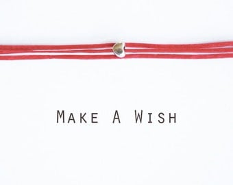 Make A Wish Tiny Heart Bracelet