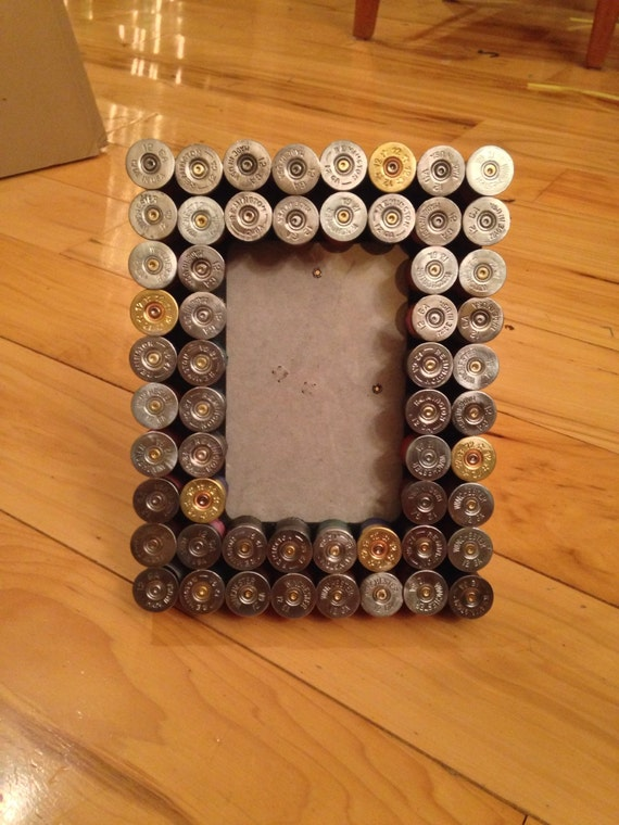 hunting craft ideas shotgun shell 4x6 picture frame 2208