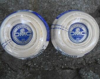 Crochet or Tatting Thread 2 Cebella DCM Size 20