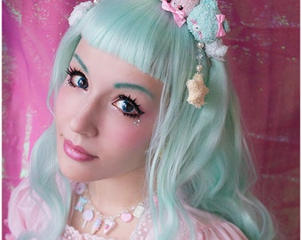 Pastel plush crown Hairband Pre-order