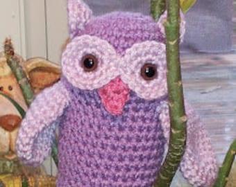 Crocheted Owl Family