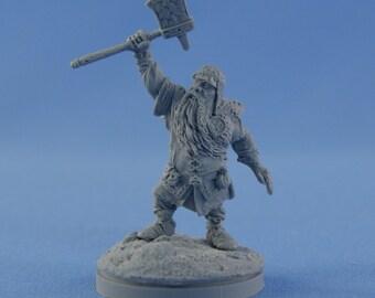 54mm Dwarf winner of Dragon resin figure
