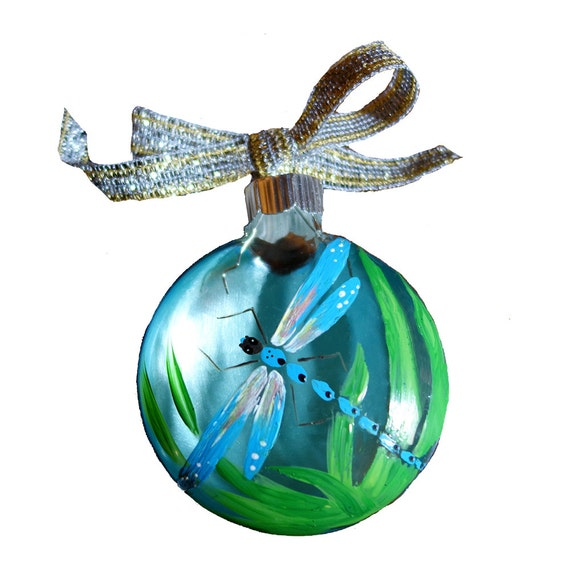 Small Dragonfly Ornament Dragonfly Painting By Marilynkjonas