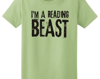 I'm A Reading Beast Ladies  T-Shirt 2000L - RV-112