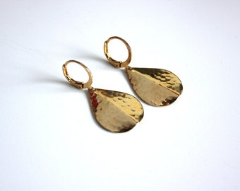 Abey-gilded Gold Fin. Collection Navajo earrings