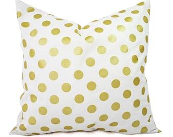 two metallic gold pillow covers metallic pillow cover white and gold pillow cover