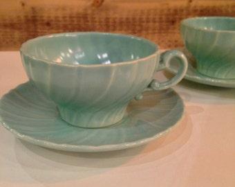 Franciscan Coronado Aqua Matte: Cup and Saucer