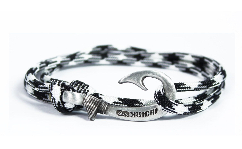 new adjustable paracord hook bracelet harmony