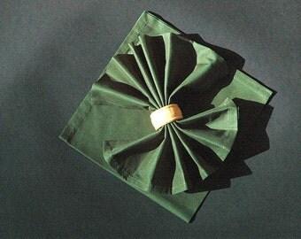 SALE - Lot of 2 napkins, 50 x 50 cm