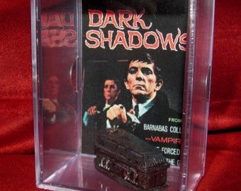 "Dark Shadows Coffin Collectible Display ""Barnabas Collins' We Combine Shippin on All our Stuff.."